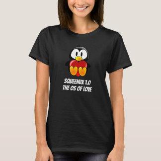 Camiseta Namorados do geek do amor do sistema informático