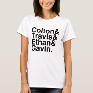 Camiseta Namorados do livro - Colton Travis Ethan Gavin