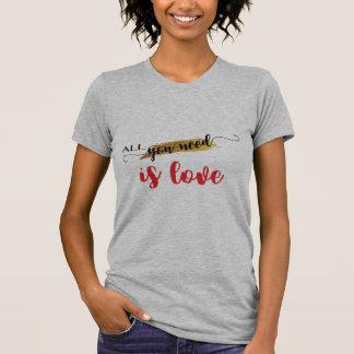 Camiseta Namorados do Todo-você-necessidade-estar-Amor