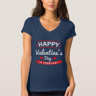Camiseta Namorados felizes o 14 de fevereiro