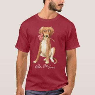 Camiseta Namorados Saluki cor-de-rosa