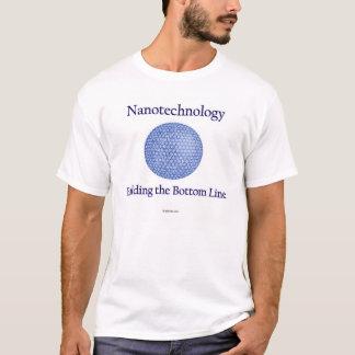 Camiseta Nanotecnologia: Construindo os ganhos líquidos.