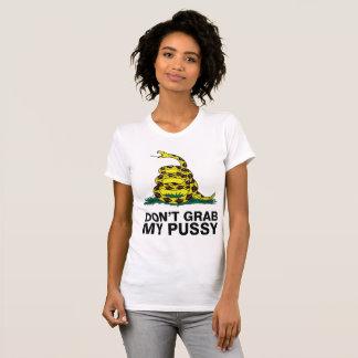 Camiseta Não agarre meu bichano