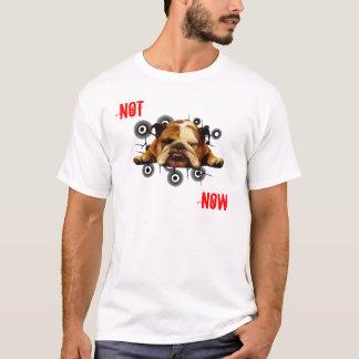 Camiseta Não agora