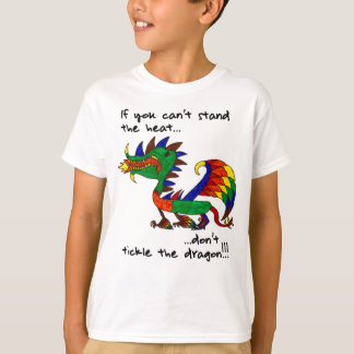 Camiseta Não agrade o dragão