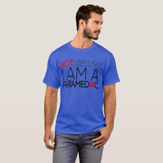 Camiseta Não ajudante de A primeiro um motorista da