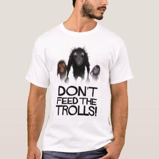 Camiseta Não alimente aos troll o Internet engraçado Meme