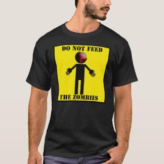 """Camiseta """"NÃO ALIMENTE t-shirt dos ZOMBIS"""""""