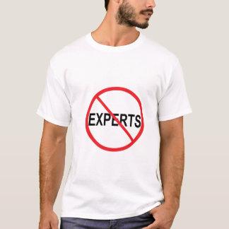 Camiseta Não aos peritos