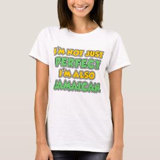 Camiseta Não apenas aperfeiçoe igualmente jamaicano