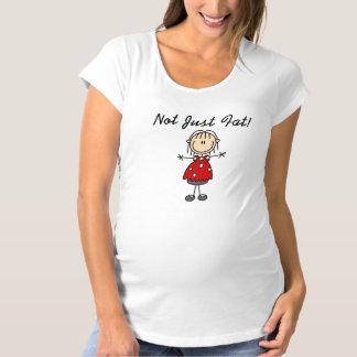 Camiseta Não apenas gordo