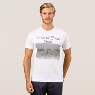 """Camiseta """"Não assim"""" o galo silvestre famoso"""