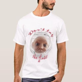 Camiseta Não bata o vidro
