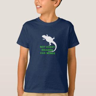 Camiseta Não cada dragão tem as asas - verde