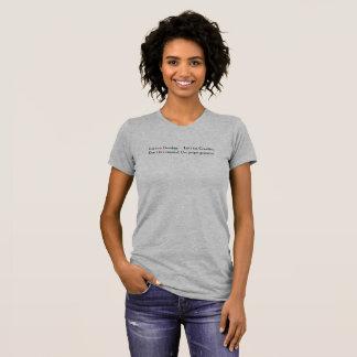 Camiseta Não coma a avó! (Luz)