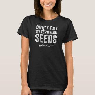 Camiseta Não coma sementes da melancia