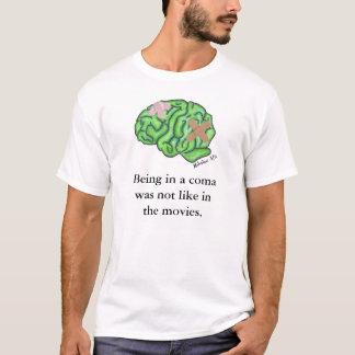 """Camiseta """"Não como t-shirt nos filmes"""""""