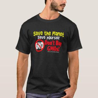 Camiseta Não compre GMOs