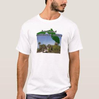 Camiseta Não deie o inverno na vida da praia de Florida