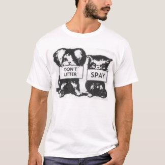 Camiseta Não desarrume Spay