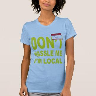 Camiseta Não discute eu que eu sou local