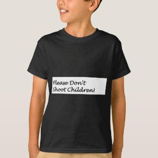 Camiseta Não dispare