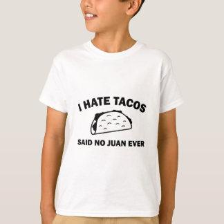 Camiseta Não disse nenhum Juan nunca