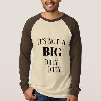 Camiseta Não é uma coisa especial GRANDE da coisa especial