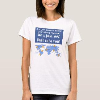Camiseta Não em você