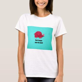 Camiseta Não esqueça sua vacina contra a gripe!