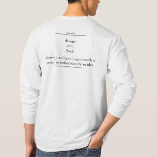 Camiseta não está fresco