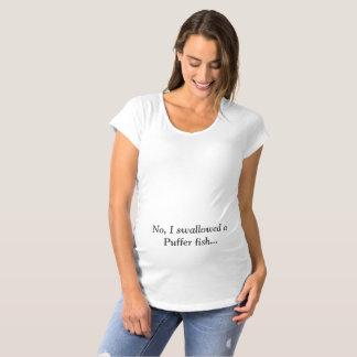 Camiseta Não, eu enguli um peixe do soprador…. T de