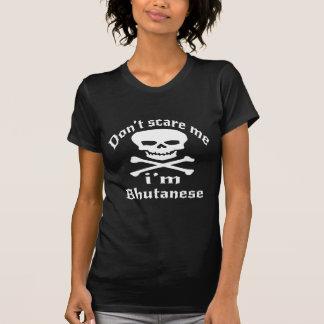 Camiseta Não faz o susto mim que eu sou butanês