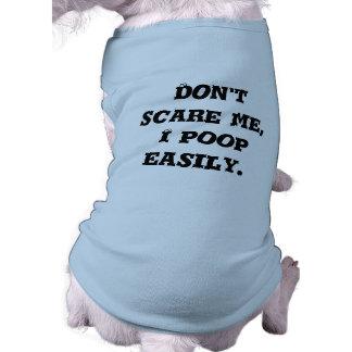 Camiseta Não faz o susto mim, tombadilho de I facilmente