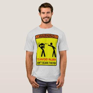 Camiseta Não faz o susto os peixes!