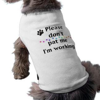 Camiseta Não faz por favor a pancadinha mim que eu estou