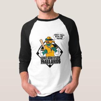 Camiseta Não fazem F$@# com os patos 3/4 de tshirt do