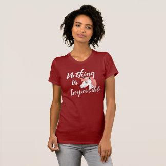 Camiseta Não há impossíveis