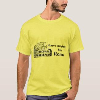 Camiseta não há nenhum lugar como Roma