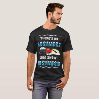 Camiseta Não há nenhum t-shirt do negócio