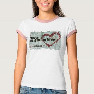 """Camiseta """"Não há nenhuma extremidade para amar"""" BBW 2015"""