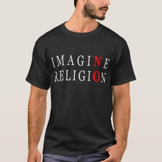 Camiseta Não imagine nenhuma religião