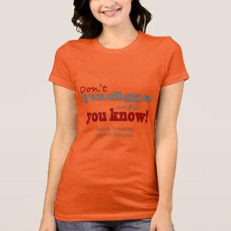 Camiseta Não julgue