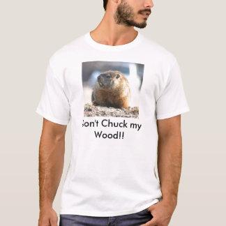 Camiseta Não lance minha madeira