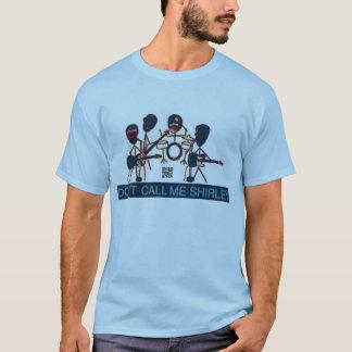 Camiseta Não me chame banda de Shirley Maryland