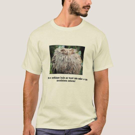 Camiseta Não me critique!