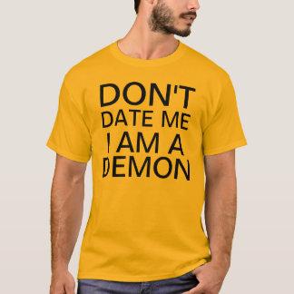 Camiseta não me date