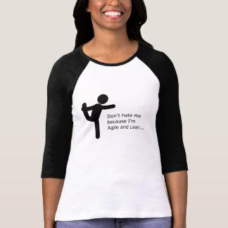 Camiseta Não me deie porque eu sou ágil & magro