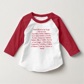 Camiseta Não me diga para ser resistente…