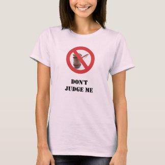 Camiseta Não me julgue